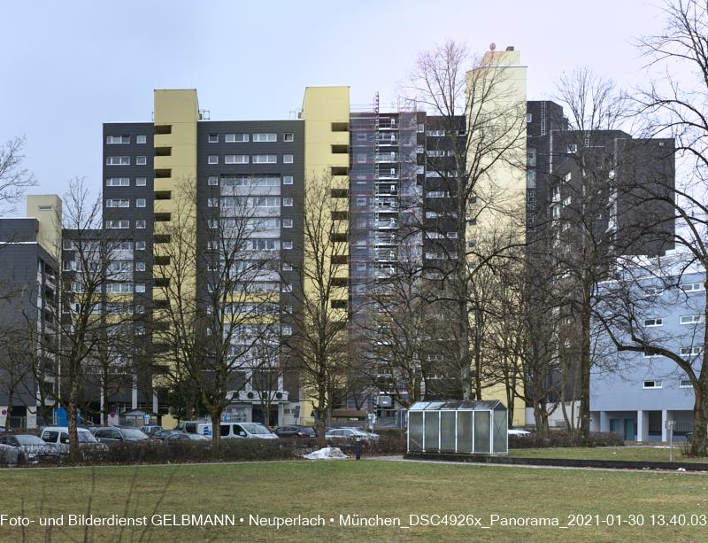 30.01.2021 Fassadensanierung Marx-Zentrum