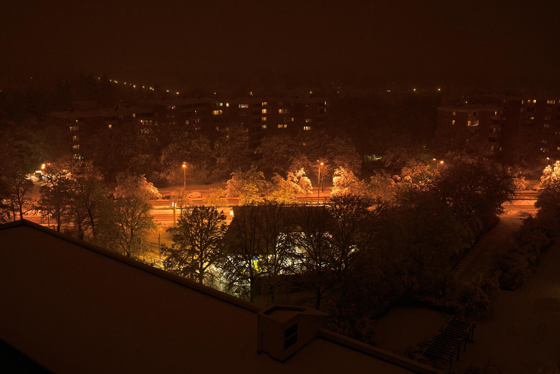 26.01.2021 Schnee in Neuperlach