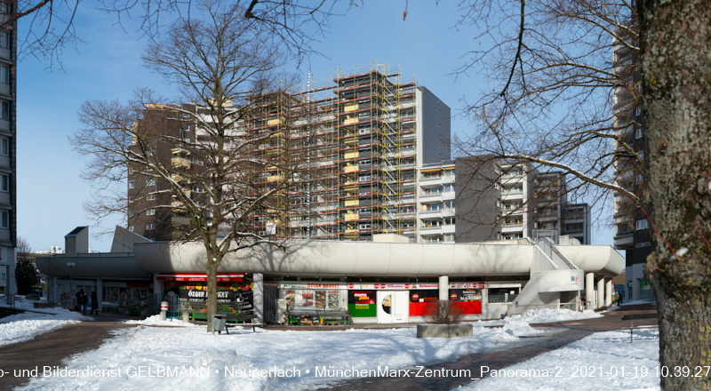 21.01.2021 Fassadensanierung Marx-Zentrum