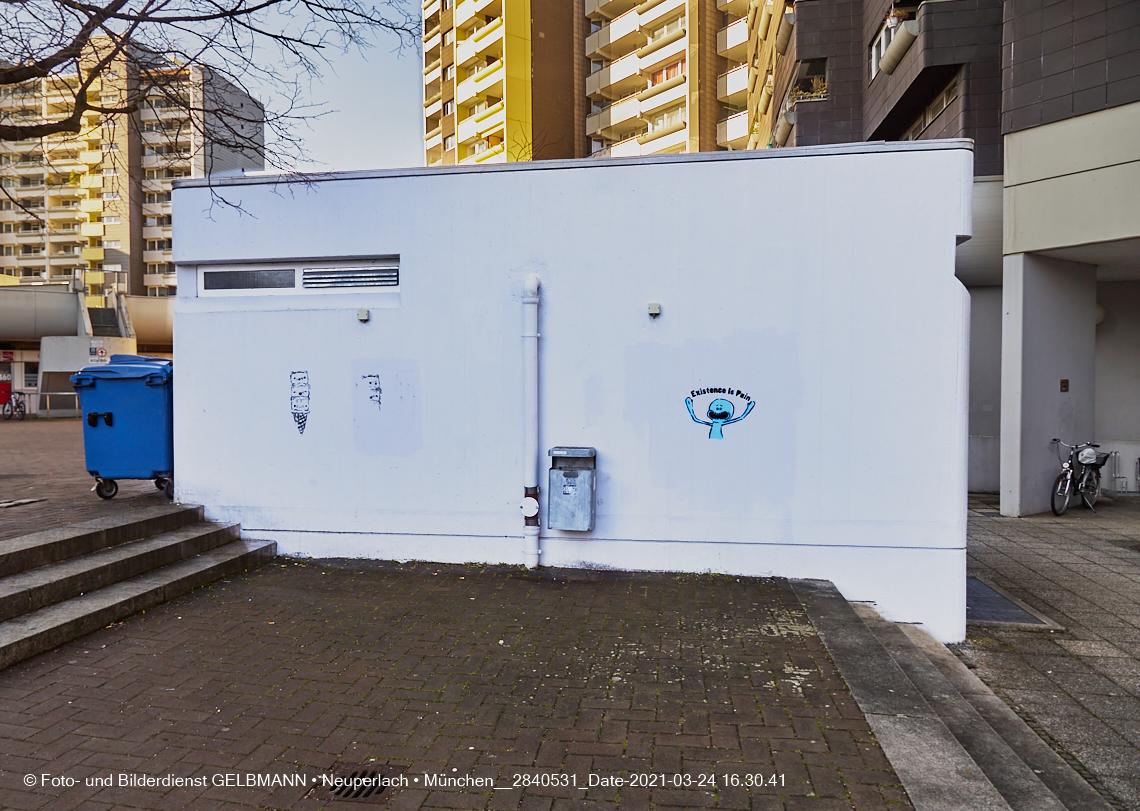Graffiti im Marx-Zentrum, illegal von Irlbeck im Privatgelände MZ aufgenommen und im Internet dargestellt