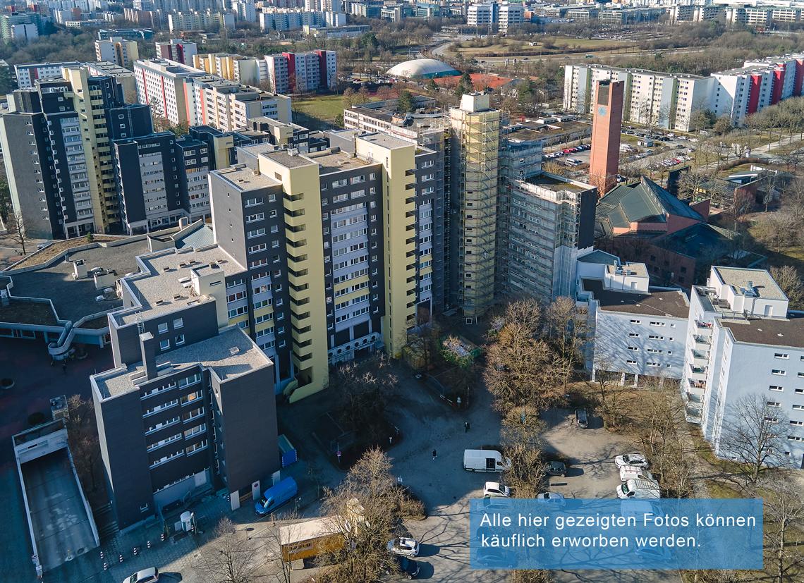 Fassadensanierung im Marx-Zenrtum