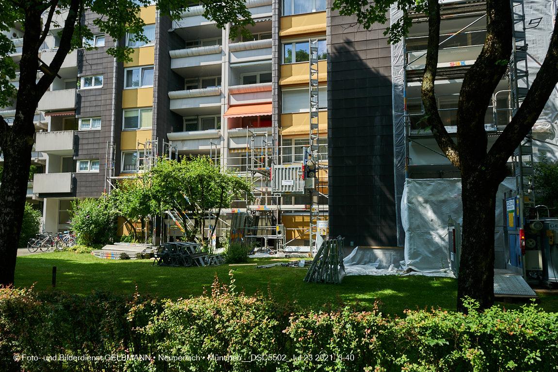 Fassadensanierung am Karl-Marx-Ring 52-62 vom 29.06.2009