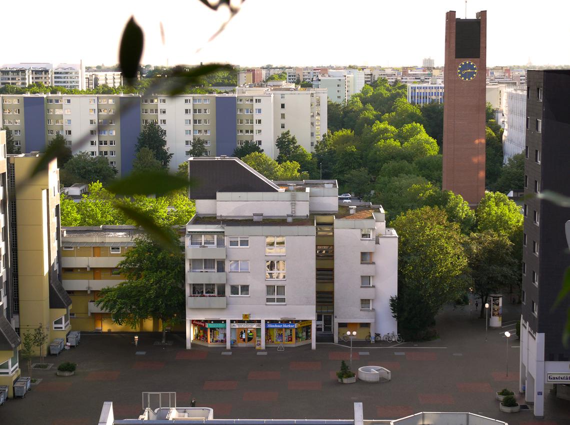 Zeitungsladen im Marx-Zentrum Neuperlach